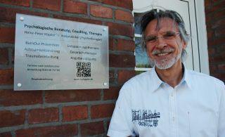 Praxisschild Heilpraktiker (Psychotherapie) Heinz-Peter Hippler | Wesel